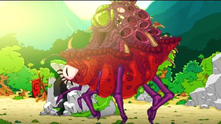 【小枫的独立游戏】由野人进化成高达,对抗虫族外星人!远古生存之战试玩。