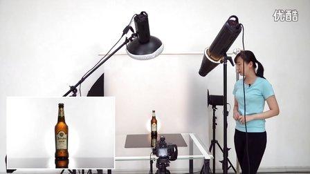 《啊摄影》之产品摄影中啤酒拍摄与布光方法