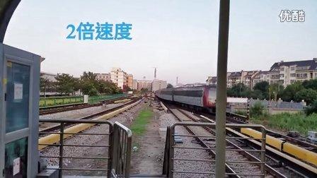 天津地铁1号线双林站折返(速度X2)