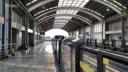 天津地铁1号线财经大学进站20160625_162953
