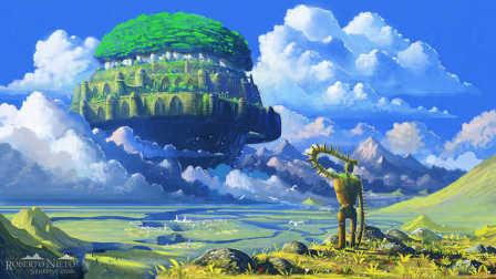 伍乐 《天空之城》久石让 宫崎骏