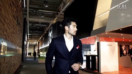 Godfrey Gao and Links of London at Baselworld 2015 - 30sec