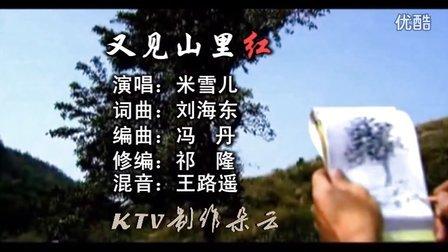 (女声版)又见山里红(米雪儿)KTV