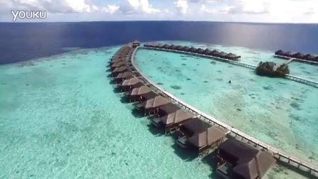 超美丽的海岛,航拍,