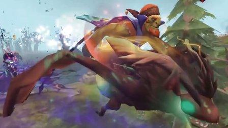 【DOTA影视】(第6期):蝙蝠骑士与莉娜的爱情故事 DOTA2中文配音