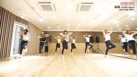 AOA - Short Hair (Dance Practice)(练习室版)(Full ver.)
