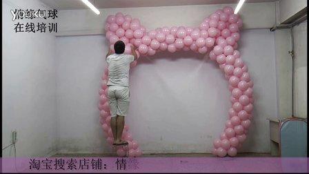 造型拱门制作-KT猫拱门