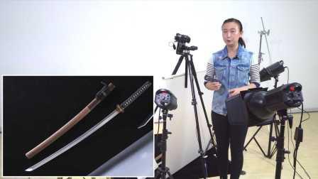 《啊摄影》之长刀的产品拍摄布光方法/刀具静物摄影教程