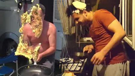 笑死不偿命:人与食物发生的搞笑瞬间