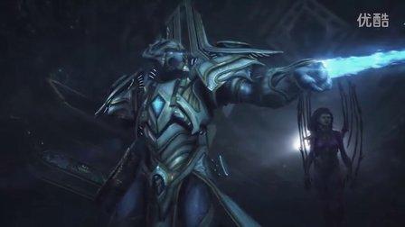 【萨摩】星际2虚空之遗-萨尔那加神庙中竟然巧遇凯瑞根?