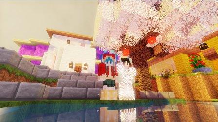 艾暮米月【奇迹小镇】四季风多模组生存30 制门工厂溜溜哒 Minecraft我的世界