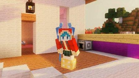 艾暮米月【奇迹小镇】四季风多模组生存31 你看到我的密室了吗 Minecraft我的世界