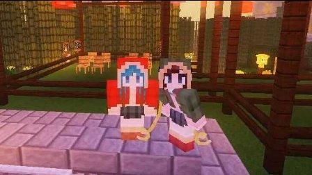 艾暮米月【奇迹小镇】四季风多模组生存32 艾暮重聚 Minecraft我的世界