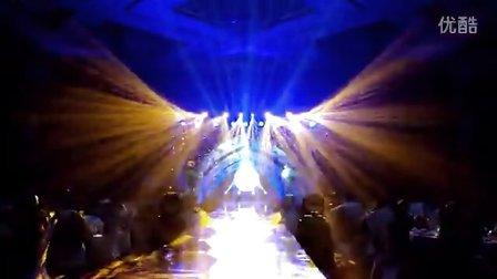 婚礼现场灯光秀 明亮舞美