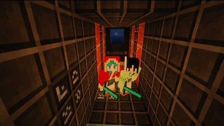 艾暮米月【奇迹小镇】四季风多模组生存34 初探果冻地牢 Minecraft我的世界