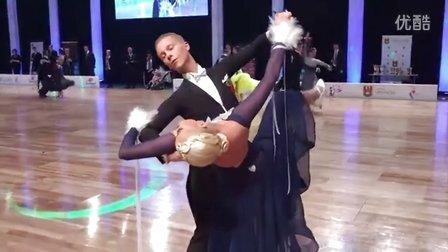 2016.11.6 WDSF World Adult STD Warsaw 波兰世界公开赛摩登舞比赛(另一视角)