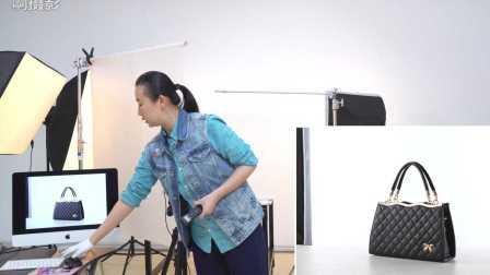 《啊摄影》之黑色皮包产品拍摄方法/包包皮具商业摄影教程