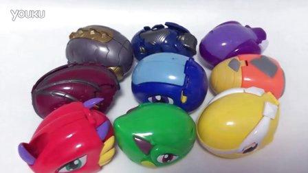 捣蛋总动员 斗龙战士变形奥特曼恐龙玩具