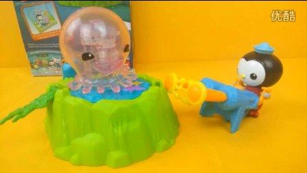 海底小纵队 皮索医生捕捉大水母 迪士尼