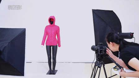 《啊摄影》日常拍摄展示之3D立体镂空效果服装拍摄