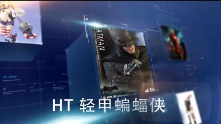 小朔开箱105 hottoys HT BVS 轻甲蝙蝠侠 最接近原设的老爷