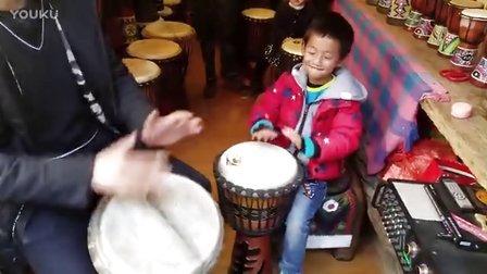 小小鼓手——丽江涑河古城