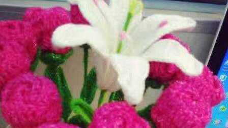 《花满天手作坊》插花包装花玫瑰花