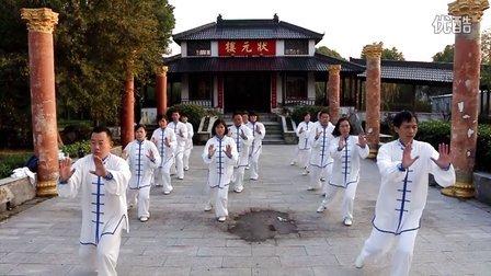 42式太极拳 练习  生态园