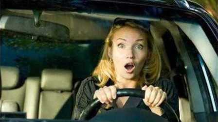 大学生活er好—女司机果然很可怕,我真的不是针对你...