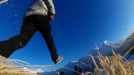尼泊尔布恩山小环线徒步【背包看世界】旅行纪录短片(Nepal Poon Hill Trekking)户外ABC山脚