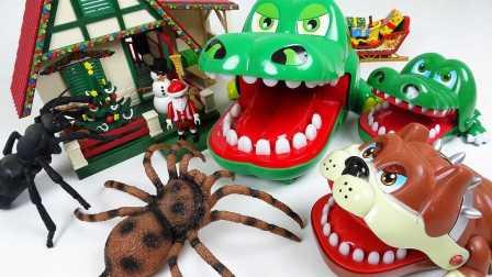 超级蠕动的玩具收藏 螳螂 甲虫 蜻蜓 蟑螂 蝴蝶 瓢虫 蟑螂  婴儿玩具收藏 儿童玩具 昆虫玩具