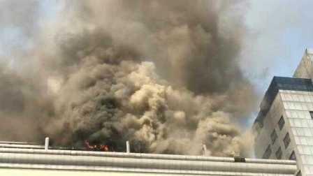 惊爆:徐州市第二人民医院发生火灾!