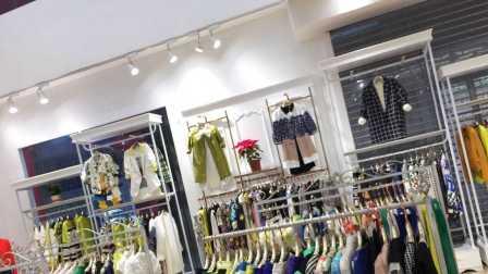 已清,广州平辉服装贸易批发视频第5期 品牌女装春夏装走份100件按比例走份
