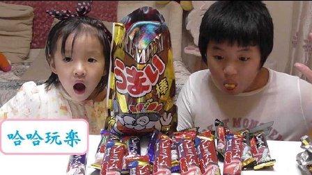 日本玩具・食玩 日本零食玉米棒大礼包開封