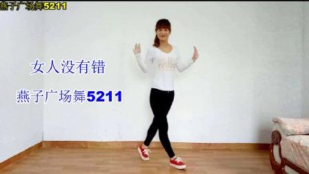 16步简单基础曳步舞dj 《女人没有错》广场舞 燕子广场舞5211 简单易学 四个方向