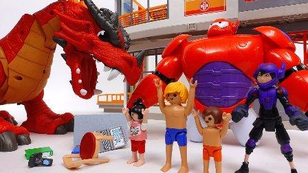 打败邪恶的龙 龙 乐高幻影忍者 去大英雄  关于卡通龙 宝宝动画片 婴儿卡通
