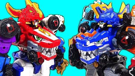 恐龙机器人改造 变形金刚玩具 恐龙玩具变形金刚  最强的对手  变形金刚魔幻车神机器人爆裂飞车猎车兽魂  DinoCore