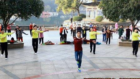 自求广场舞 排舞 《追你恰恰 》附分解教学 株洲神龙公园