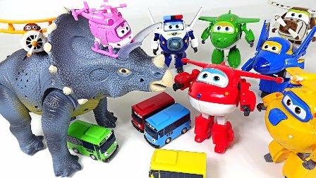 超级飞侠 变形救援飞机 小青 小爱 多多 包警长 酷飞 胡须爷爷 乐迪 鳕鱼乐园 玩具总动员 玩具试玩 巴士玩具和恐龙