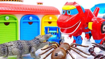 变形警车珀利 新超级飞侠 小企鹅啵乐乐 小巴士卡通高清  变形警车珀利 凯普 小的士 波斯提 邮政车 深海怪物出现 特别篇  迪诺机器人 鳄鱼和蜘蛛 虫侵入镇