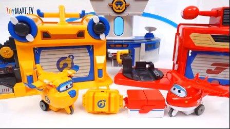 超级飞侠 乐迪跟多多在修理赛道