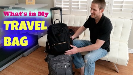 MelodyBlur-我的旅行箱里有什么 What's in my carryon bags