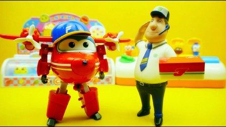 超级飞侠 变形机器人 淘淘 金宝 变形玩具