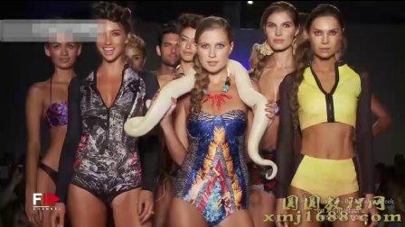 WEAREHANDSOME迈阿密泳装秀黄金蟒与模特251