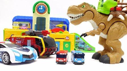 最强战士 迷你特工队 魔幻车神 变形金刚 汽车 变形金刚 奴才玩具  汽车变压器 汽车玩具巨龙恐龙蜘蛛攻击 巴士玩具 小巴士卡通高清
