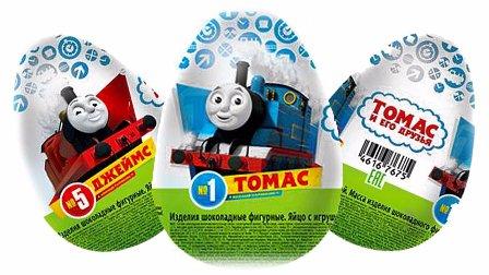 惊喜蛋 托马斯玩具小火车 健达奇趣蛋  托马斯和他的朋友 从巧克力蛋收集玩具 惊喜蛋