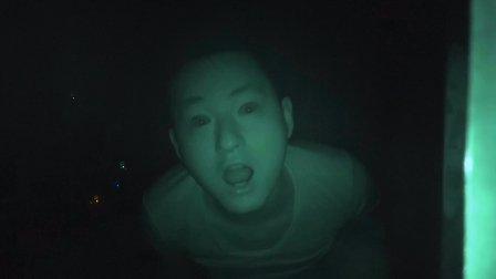 【不作会死】凌晨两点作死藏到柜子里面拍摄房间居然真的拍摄到了我自己的分身