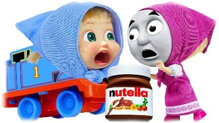 托马斯火车 换脸托马斯 马莎和熊儿童电影 熊出没之 托马斯和他的朋友 巧克力