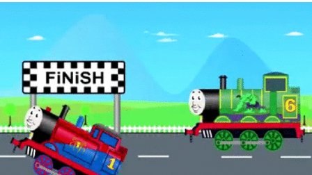 托马斯小火车玩具视频