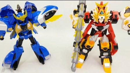 汽车变形金刚 组合机器人 红黄蓝汽车玩具 益智玩具 男孩玩具 一起玩 年型金刚玩法说明 § 垣垣玩具 §